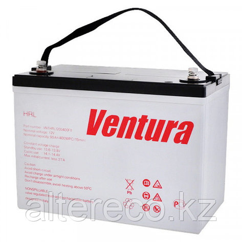 Аккумулятор Ventura HRL 12650W (12В, 150Ач), фото 2