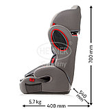 Автокресло Heyner MultiProtect ERGO 3D-SP (I,II,III) Koala Grey, фото 3