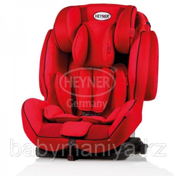 Автокресло Heyner Capsula MultiFix ERGO 3D-SP (I,II,III)  Racing Red С креплением IsoFix