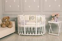 Детская кроватка-трансформер 10 в 1 Estel Acqua в ассортименте