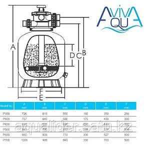 Фильтр Aquaviva P400, фото 2