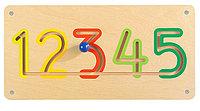 Настенный игровой элемент - Цифры 1