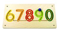 Настенный игровой элемент - Цифры 2