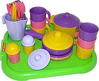 Набор дет.посуды Настенька на 6 пер.(полесье)