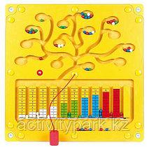 Настенный игровой элемент- Числовое дерево