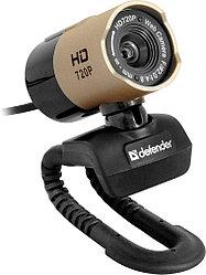 Веб камера Defender G-lens 2577 черный