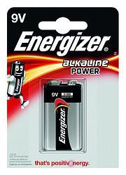 Элемент питания 6LR61 9V Energizer POWER Alkaline 1 штуки в блистере