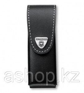 Чехол для ножа Victorinox POUCH 4.0523.3, Материал: Кожа, Крепление: На пояс, Застежка: Липучка, Цвет: Чёрный