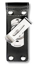 Чехол для ножа Victorinox POUCH 4.0523.31, Материал: Кожа, Крепление: Клипса металлическая с поворотным механи