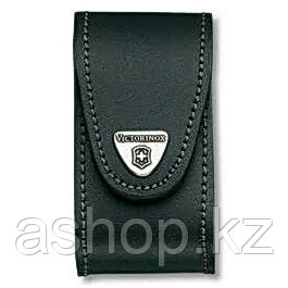 Чехол для ножа Victorinox POUCH 4.0521.XL, Материал: Кожа, Крепление: На пояс, Застежка: Velkro (липучка), Цве