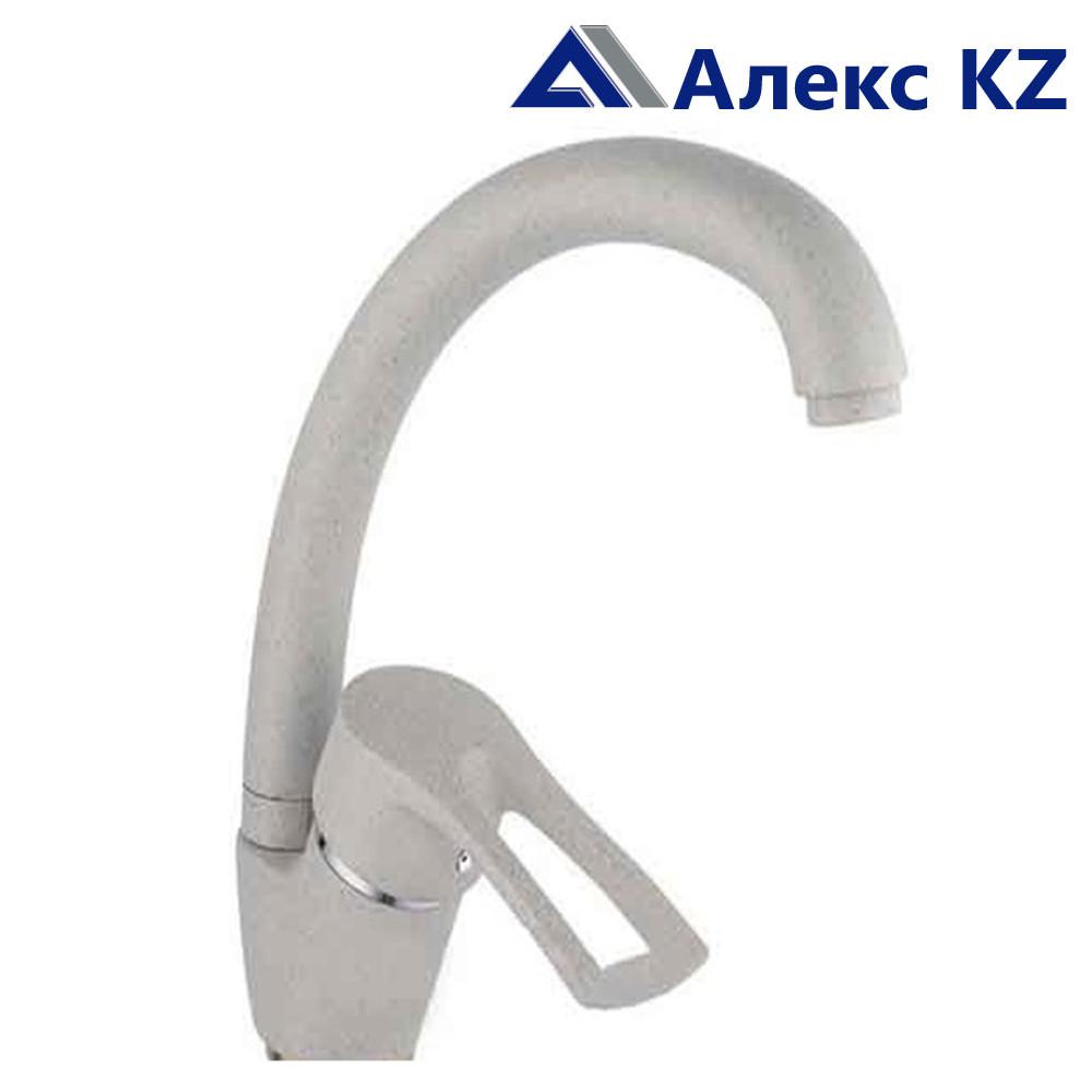 Смеситель для кухни одноручный ZEGOR YUB4-A181KS (цвет: песочный)