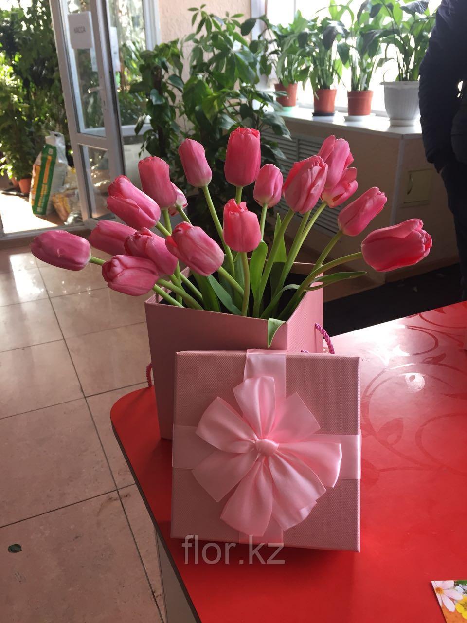 Тюльпаны оптом к 8 марта - фото 3
