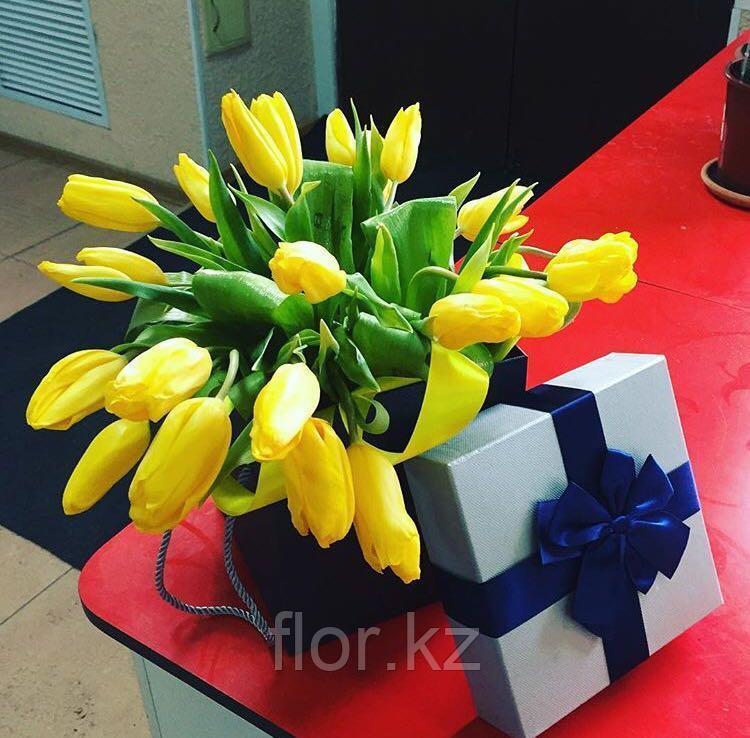 Тюльпаны оптом к 8 марта - фото 5