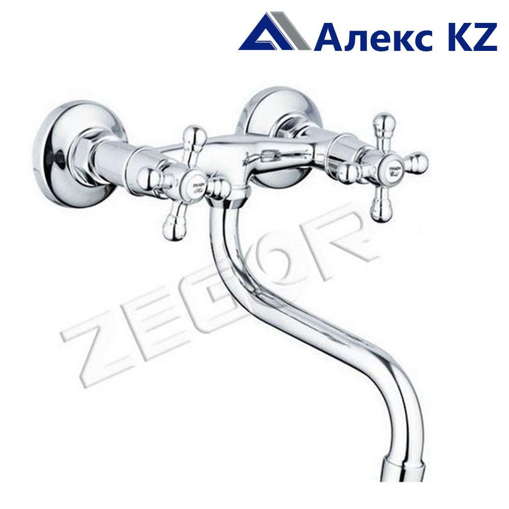 Смеситель настенный для кухни ZEGOR DMX12- A605