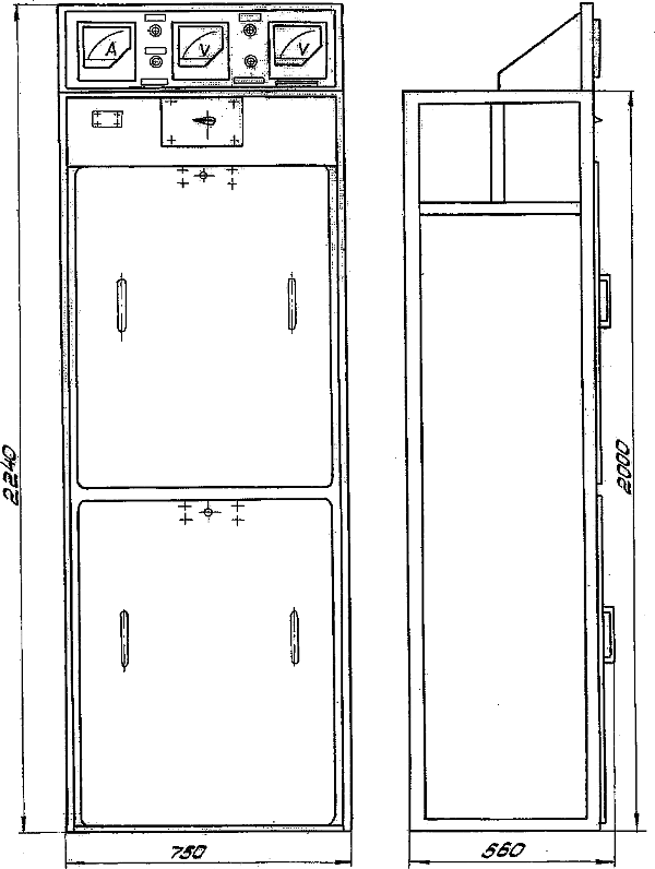 Панель конденсаторов ПК-1
