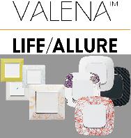 Розетки/выключатели Valena Life/Allure