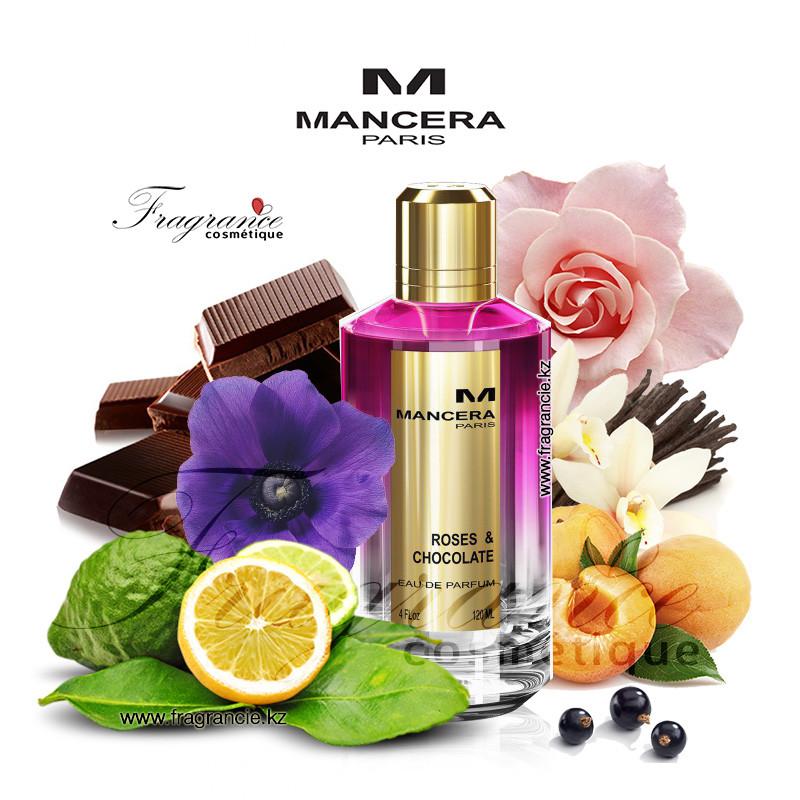 Парфюм Mancera Roses&Chocolate 120ml (Оригинал - Франция)