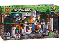 Конструктор Bela Minecraft Приключения в шахтах 10990  666 дет, фото 1