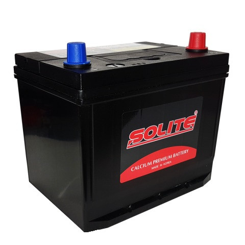 Аккумулятор автомобильный Solite 65Ah 75D23L левый + Корея