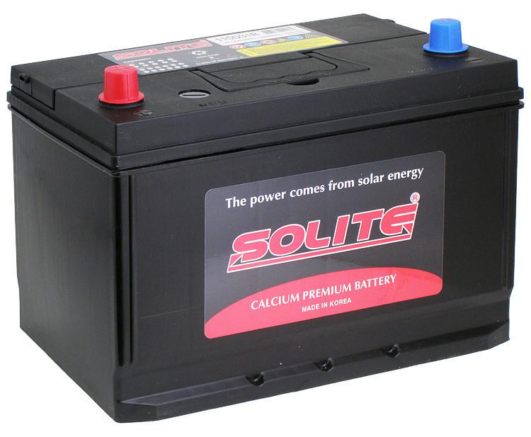 Аккумулятор автомобильный Solite 90Ah 105D31R(L) есть и левый и правый +