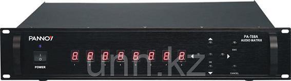PA-T88A - Аудиоматрица для систем речевого оповещения, фото 2