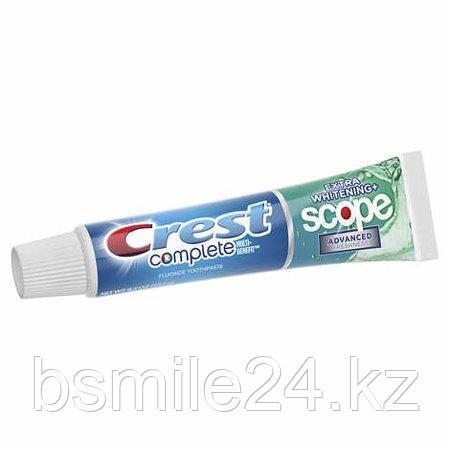 Зубная паста Crest Scope complete extra Whitening США,232грамм