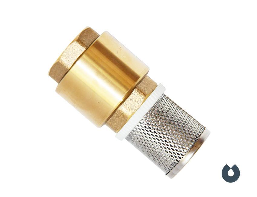 Обратный клапан с сеткой - 20