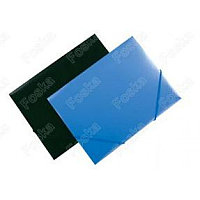 Папка с резинкой А4, 0,50мм, пластик Foska