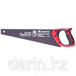 Ножовка по дереву, 400 мм, 7-8 TPI, зуб-3D, каленый зуб, тефлоновое покрытие полотна, двухкомпонентная