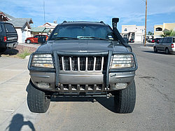 Jeep Grand Cherokee WJ 1999-2005 г шноркель - RIDEPRO 4X4