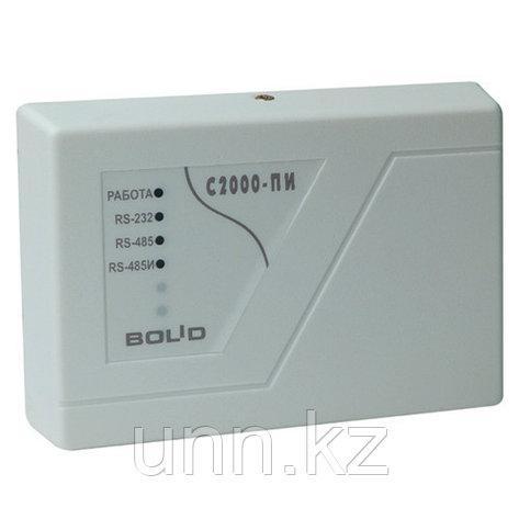 С2000-ПИ - Преобразователь интерфейсов RS-232/RS-485, повторитель интерфейса RS-485 с гальванической развязкой, фото 2