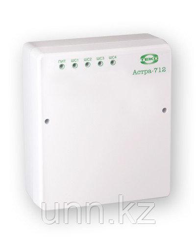 Астра-712/4 Прибор приемно-контрольный охранно-пожарный ППКОП 01101349