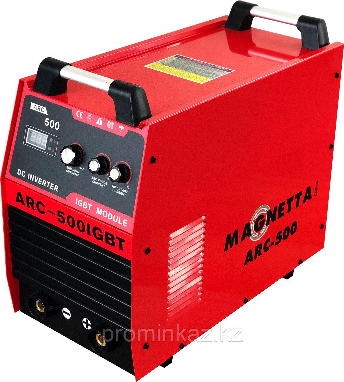 Инверторный сварочный аппарат MAGNETTA ARC-500 IGBT