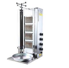 Аппарат донер кебаб, промышленный газовый 4 горелки (турецкий)