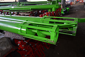 Шнек транспортёра 6 метров (привод от ВОМ и эл.двигателя)
