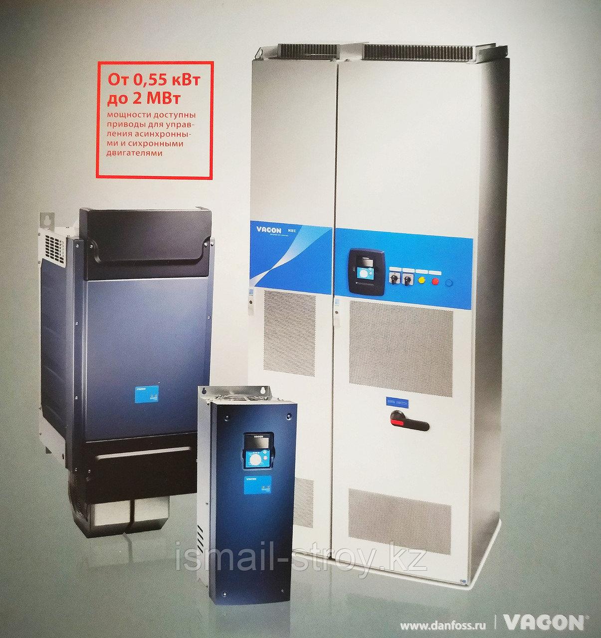 Преобразователь частоты VACON NXP Air Cooled , 3 кВт