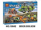 Конструктор BELA Urban 10642 Грузовой вертолет исследователей вулканов аналог Lego City 60125, фото 2
