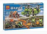 Конструктор BELA Urban 10642 Грузовой вертолет исследователей вулканов аналог Lego City 60125, фото 4