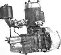 Пусковой двигатель ПД-10 без стартера и магнето АГРО