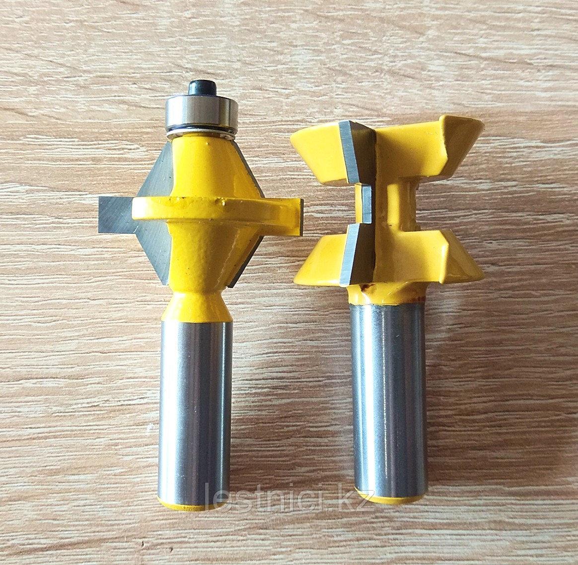 Комплект фрез шиповой для соединения, кромочный 16ММ  12мм*500