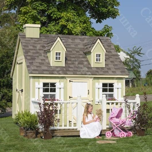 Деревянный домик Эмили -1