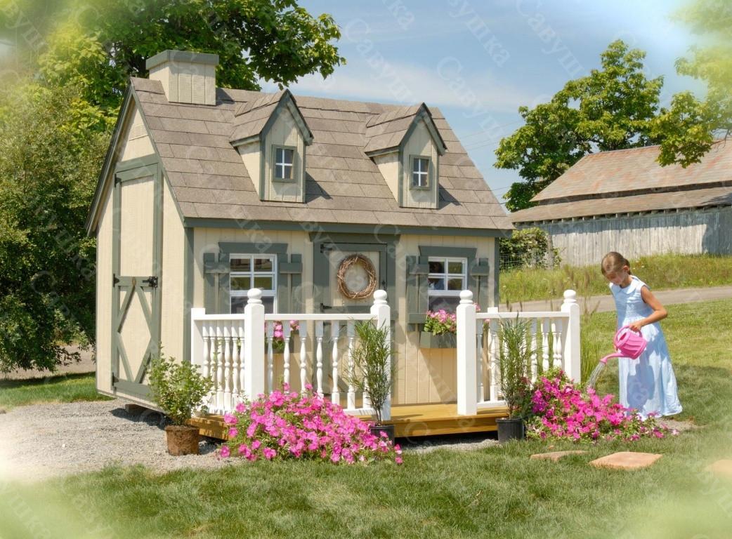 Деревянный домик Эмили -2