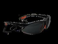 Очки защитные черные со шнурком