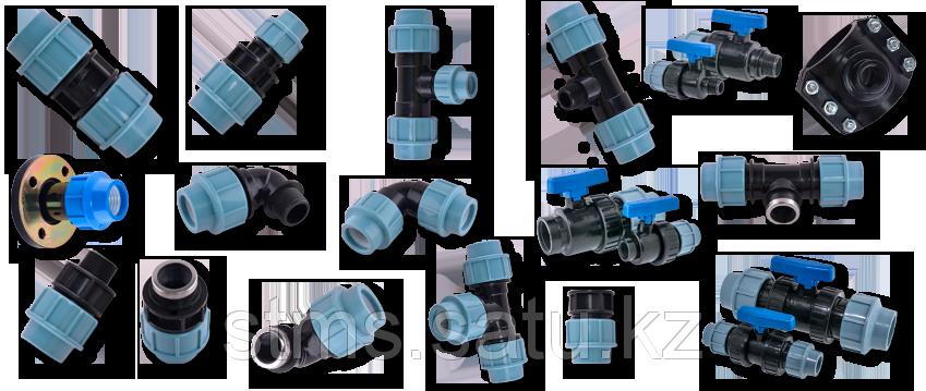 Отвод ПЭ 90° SDR11 ДУ63