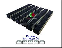 Грязезащитная придверная решетка Резина+Резина