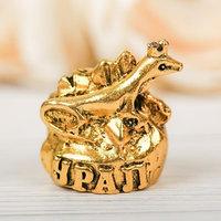 Напёрсток сувенирный 'Урал', золото