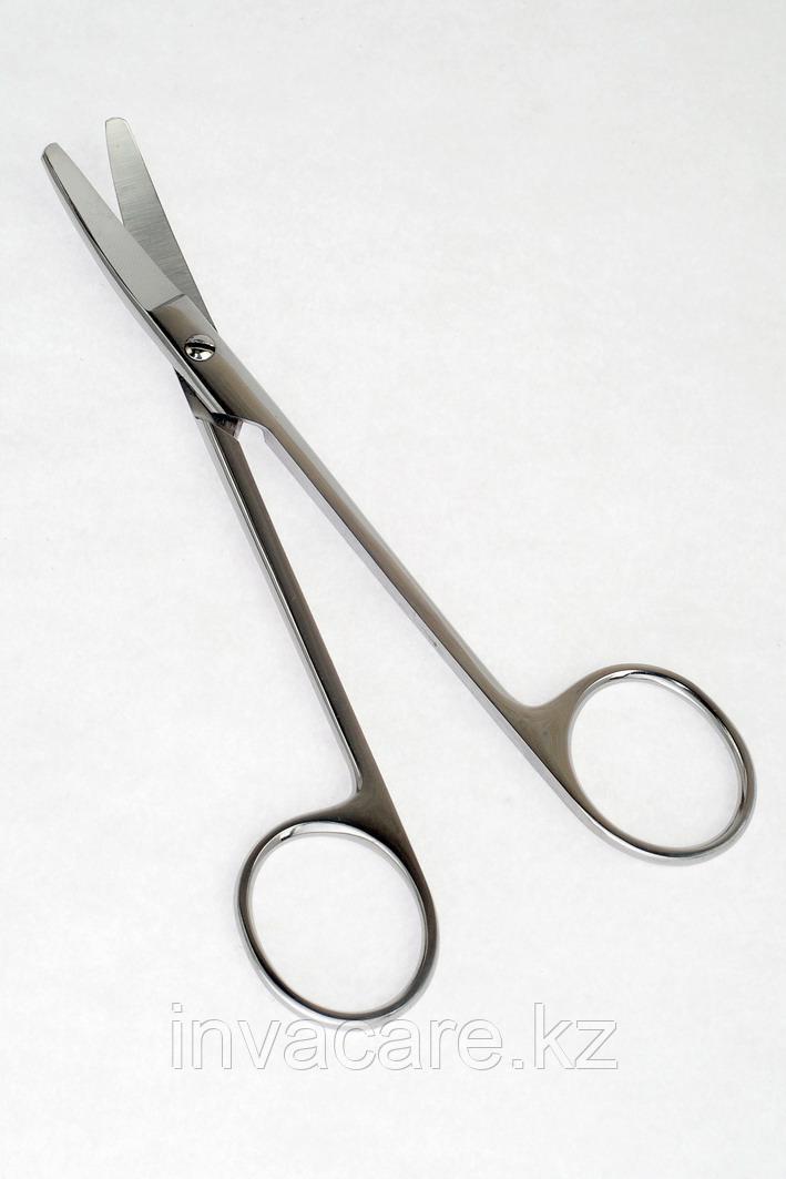 Ножницы хирургические, вертикально-изогнутые, твердосплавные, 150мм *, (22-2263R)