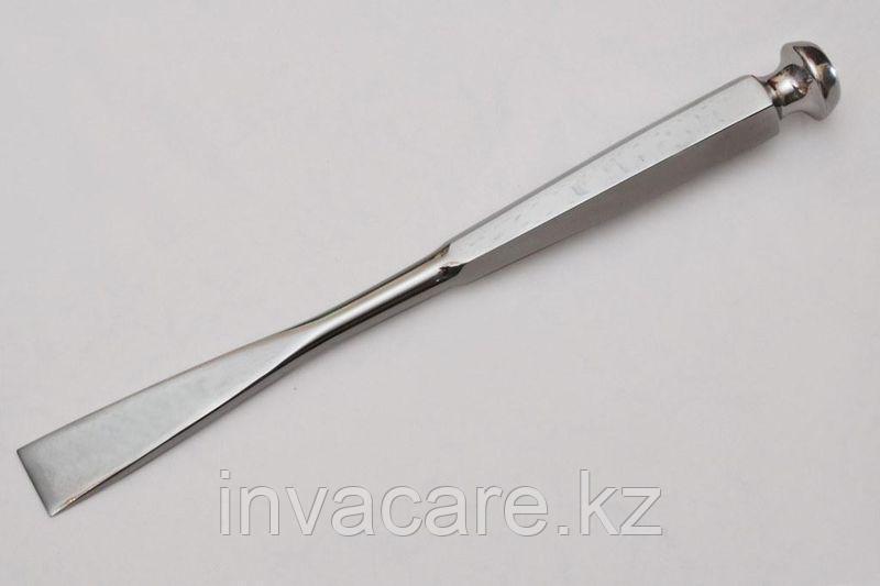 Долото хирургическое с шестигранной ручкой с двухсторонней заточкой, 15мм *, (27-3480-15R)