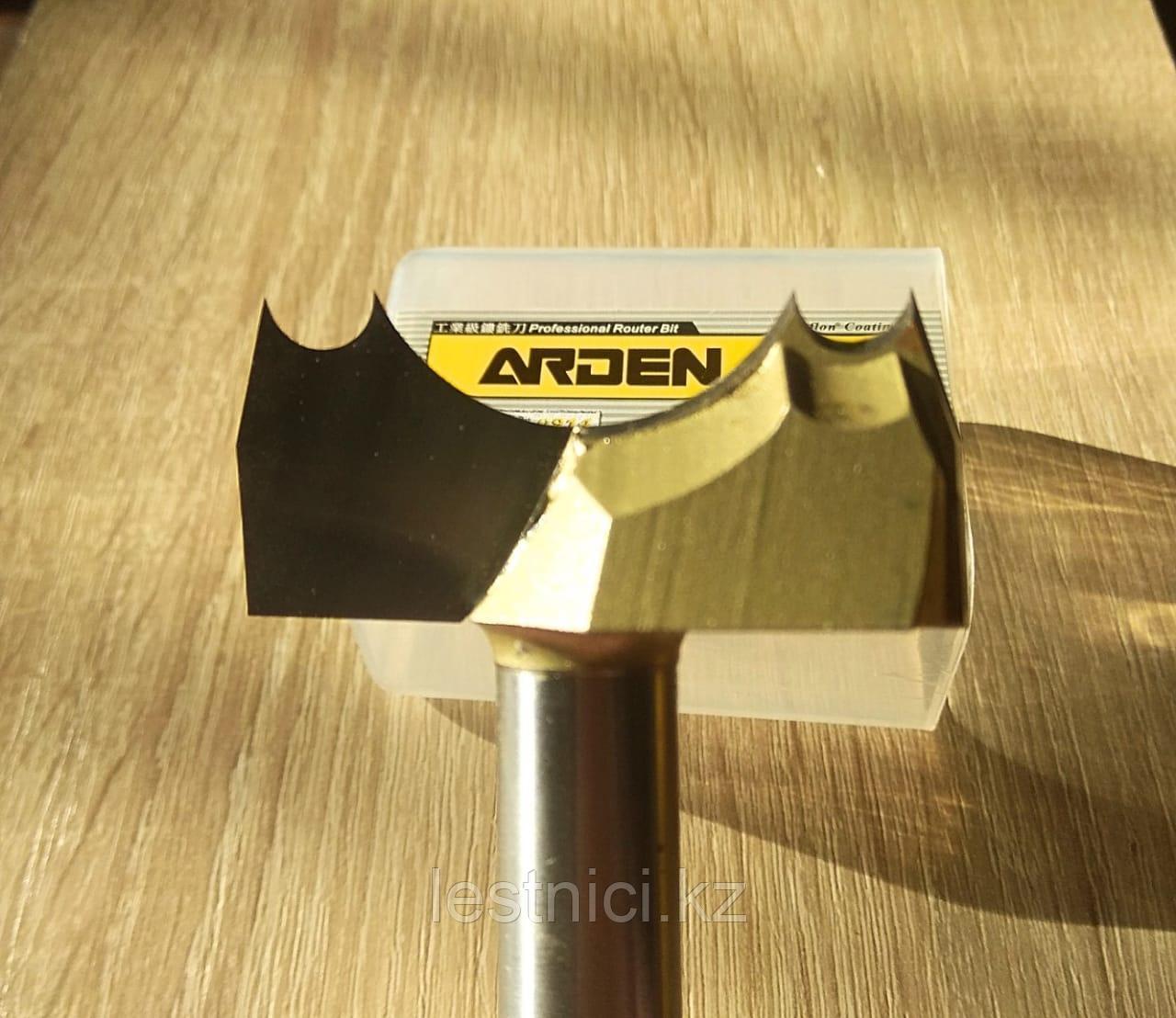 Фреза Arden 0914258 1/2*2 D=50.80 R=15.51 H=9.50  Двойной шаровой нож с драконом