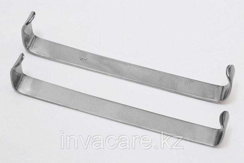 Крючок пластинчатый по Фарабефу, парные, 165мм *, (26-3162R)